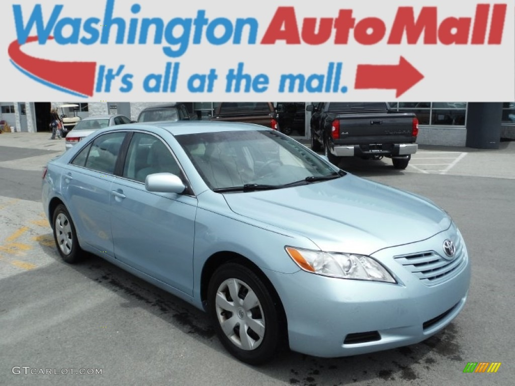 2008 sky blue pearl toyota camry le 104481015 photo 6 car color galleries. Black Bedroom Furniture Sets. Home Design Ideas