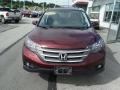 2012 Basque Red Pearl II Honda CR-V EX 4WD  photo #4