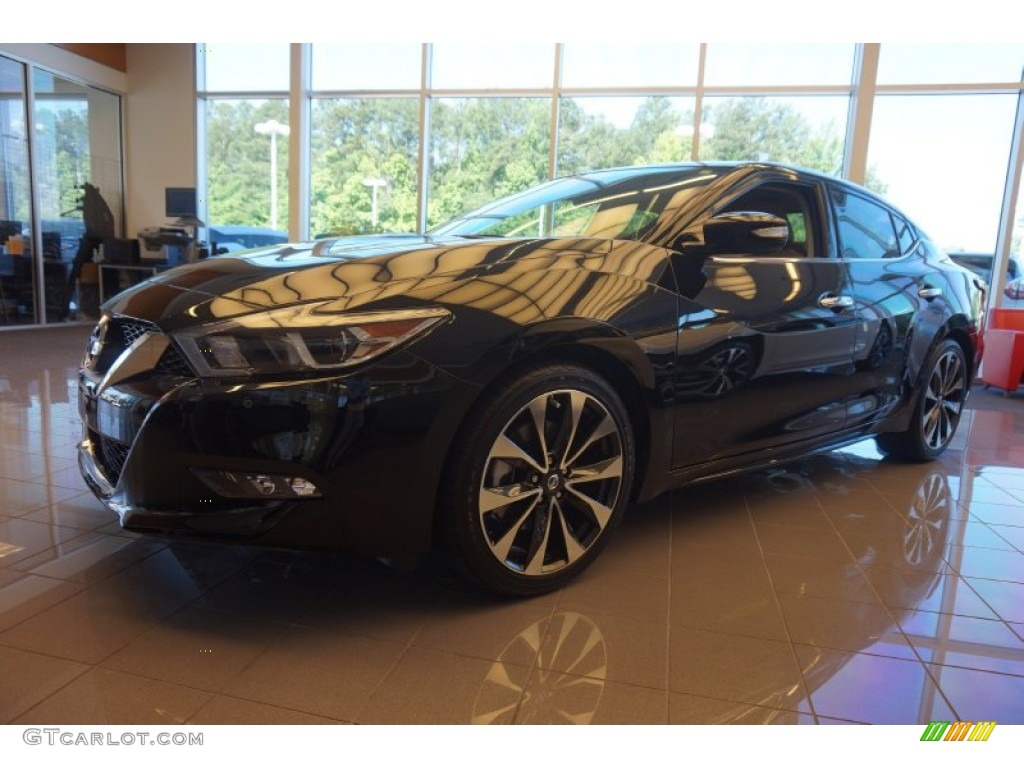 2016 Super Black Nissan Maxima Sr 104518967 Car Color Galleries