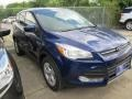 2015 Deep Impact Blue Metallic Ford Escape SE #104518650