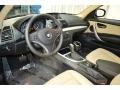 2012 1 Series 128i Coupe Savanna Beige Interior