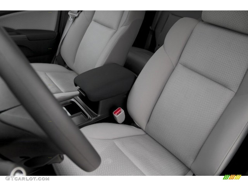 2015 CR-V EX - Basque Red Pearl II / Gray photo #12