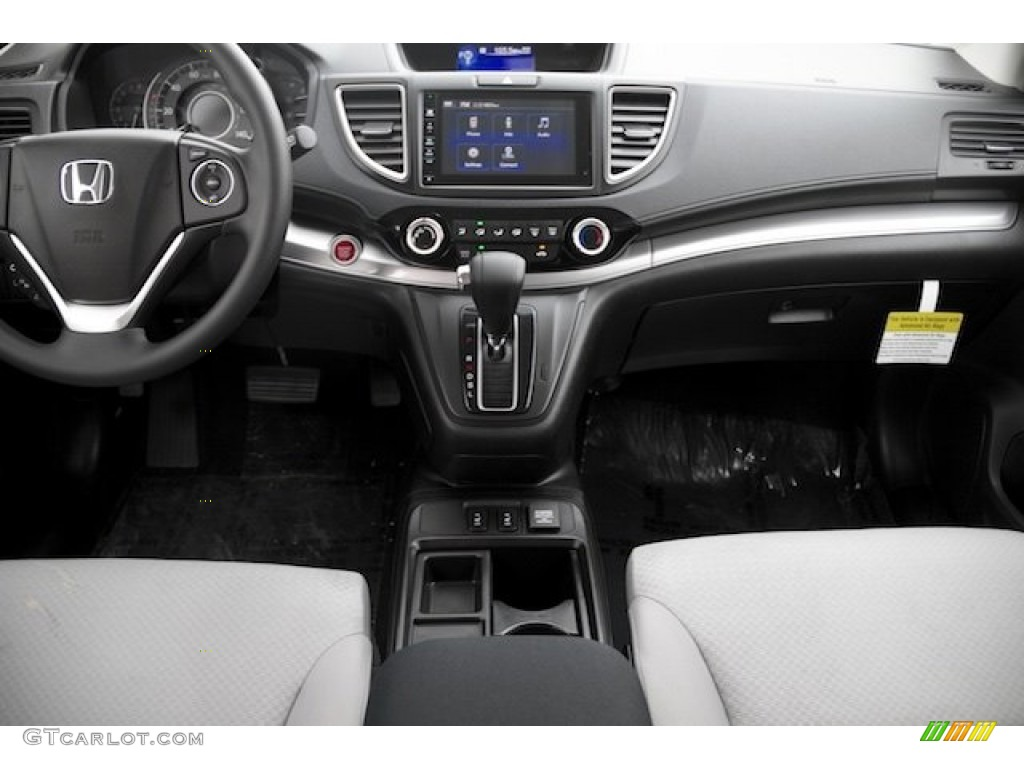 2015 CR-V EX - Basque Red Pearl II / Gray photo #14