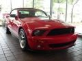 2007 Torch Red Ford Mustang Shelby GT500 Convertible  photo #15
