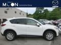 2014 Crystal White Pearl Mica Mazda CX-5 Touring AWD #104584562