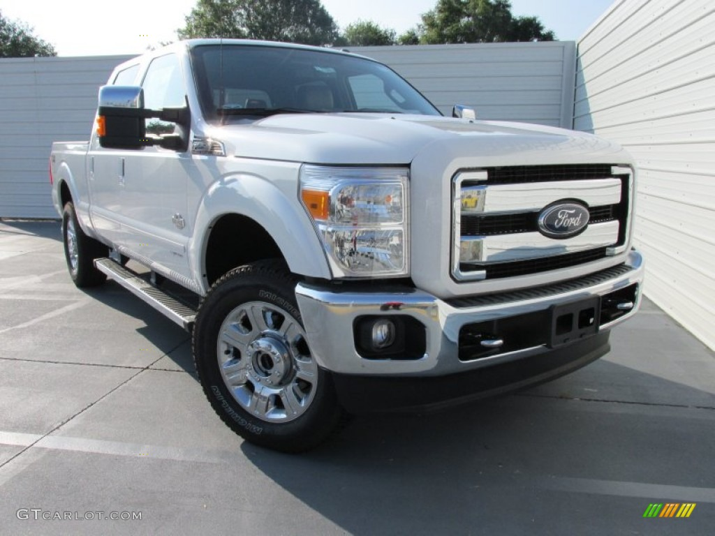 2015 white platinum ford f250 super duty king ranch crew cab 4x4 104603424 car. Black Bedroom Furniture Sets. Home Design Ideas