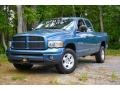 2005 Atlantic Blue Pearl Dodge Ram 1500 SLT Quad Cab 4x4 #104603631