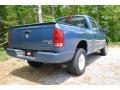 2005 Atlantic Blue Pearl Dodge Ram 1500 SLT Quad Cab 4x4  photo #7