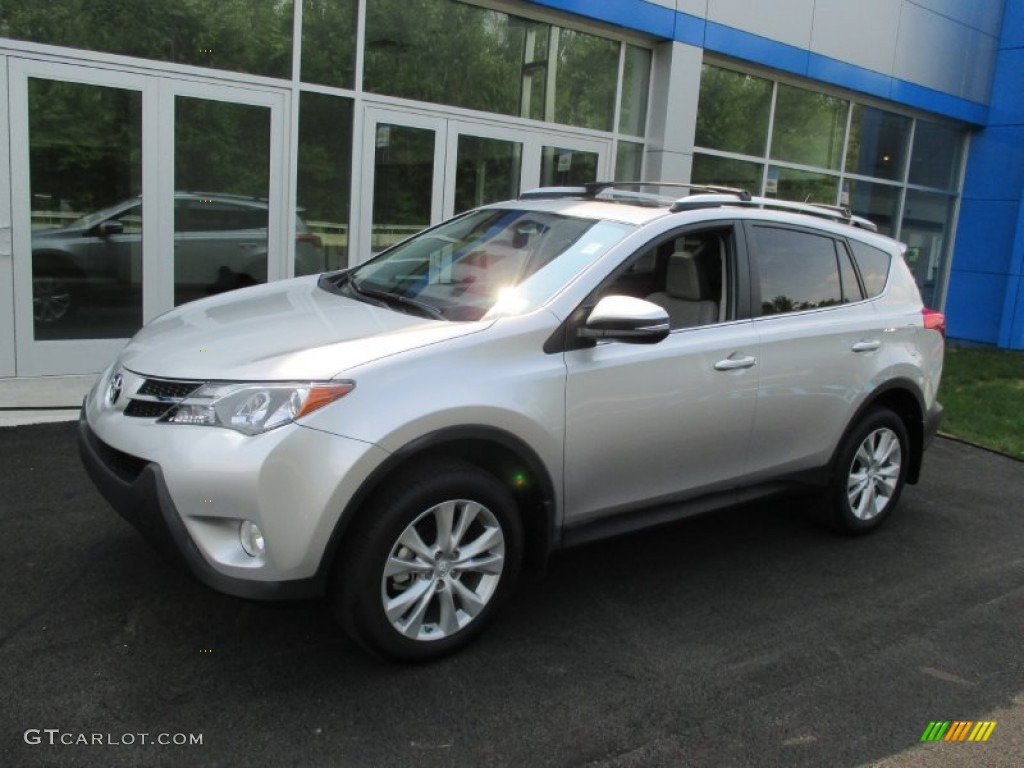2015 classic silver metallic toyota rav4 limited awd. Black Bedroom Furniture Sets. Home Design Ideas