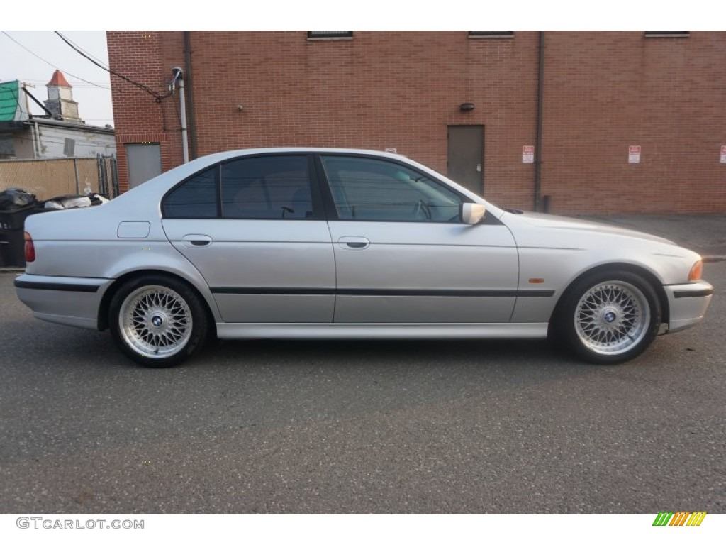 Aspen Silver Metallic 2000 Bmw 5 Series 528i Sedan Exterior Photo 104665660