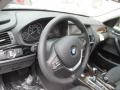 Black Steering Wheel Photo for 2016 BMW X3 #104690220