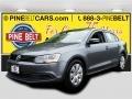 Platinum Gray Metallic 2012 Volkswagen Jetta SE Sedan