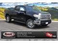 2015 Attitude Black Metallic Toyota Tundra Limited Double Cab 4x4 #104676488