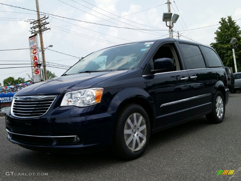 2015 true blue pearl chrysler town country touring 104715152 car color galleries. Black Bedroom Furniture Sets. Home Design Ideas