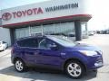 2014 Deep Impact Blue Ford Escape SE 1.6L EcoBoost 4WD  photo #2