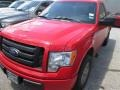 Race Red 2012 Ford F150 STX Regular Cab