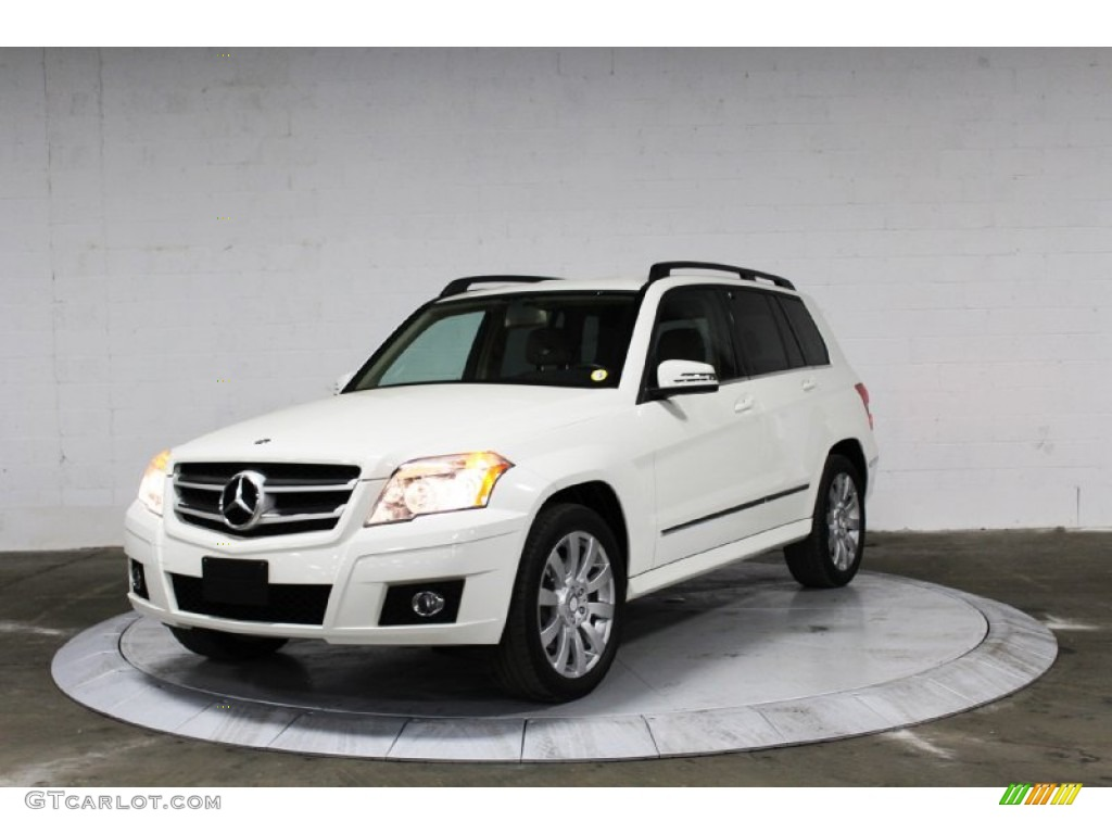 Arctic white 2012 mercedes benz glk 350 4matic exterior for Mercedes benz glk 2012