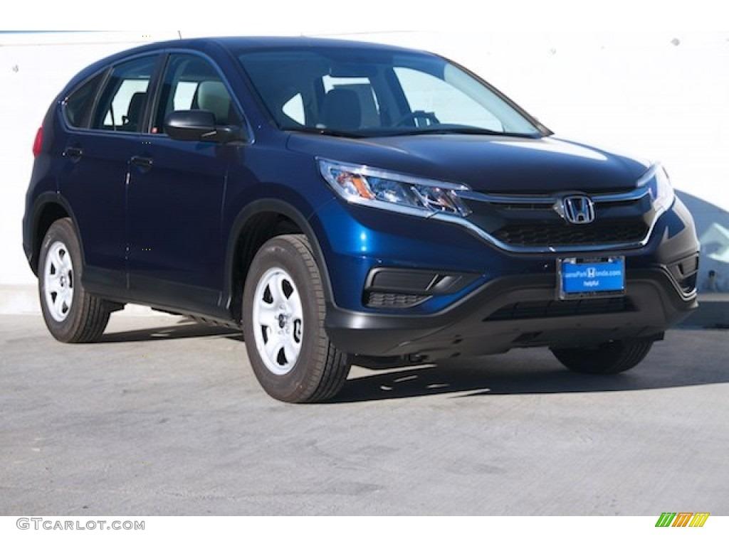 Obsidian Blue Pearl Honda CR-V