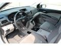 2013 White Diamond Pearl Honda CR-V LX AWD  photo #8