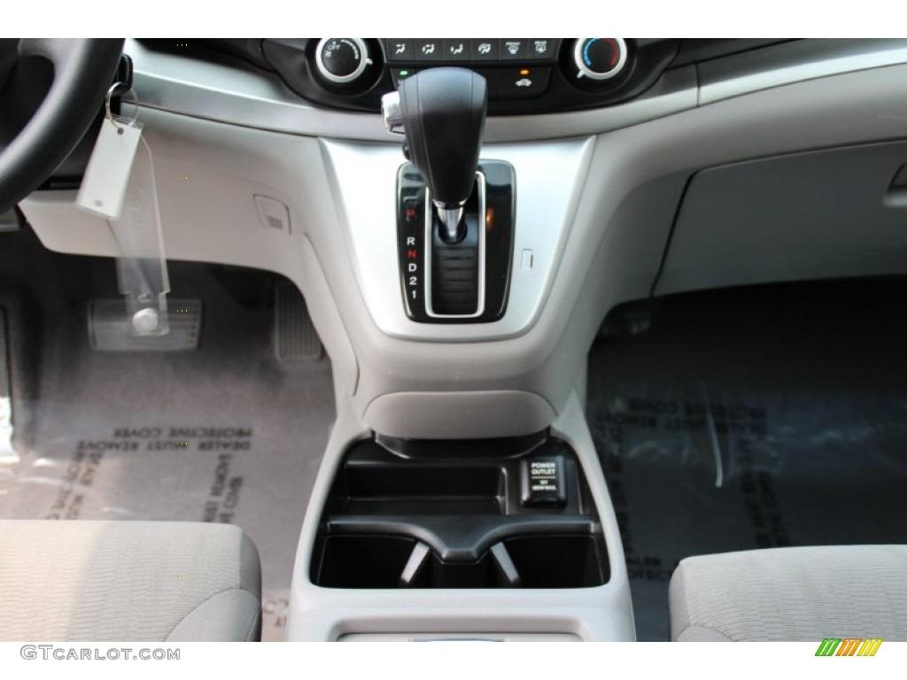 2013 CR-V LX AWD - White Diamond Pearl / Gray photo #12