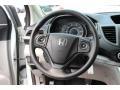 2013 White Diamond Pearl Honda CR-V LX AWD  photo #13