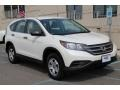 2013 White Diamond Pearl Honda CR-V LX AWD  photo #18
