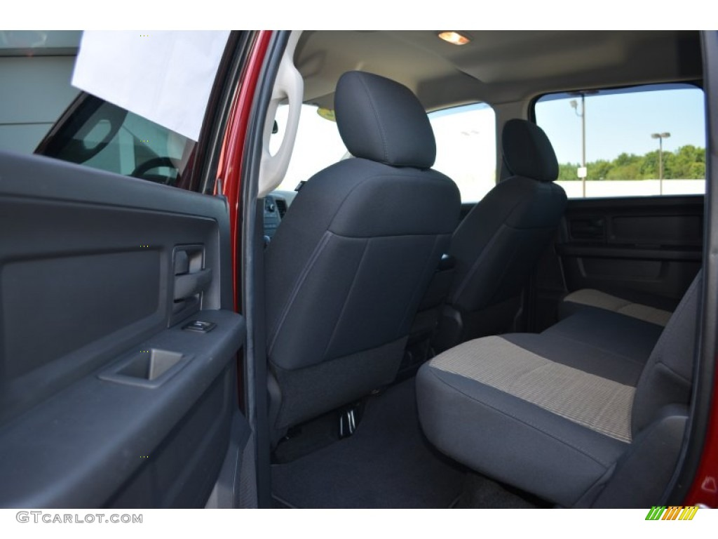 2012 Ram 1500 Express Crew Cab - Deep Molten Red Pearl / Dark Slate Gray/Medium Graystone photo #15