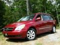 Cranberry Red 2007 Hyundai Entourage GLS