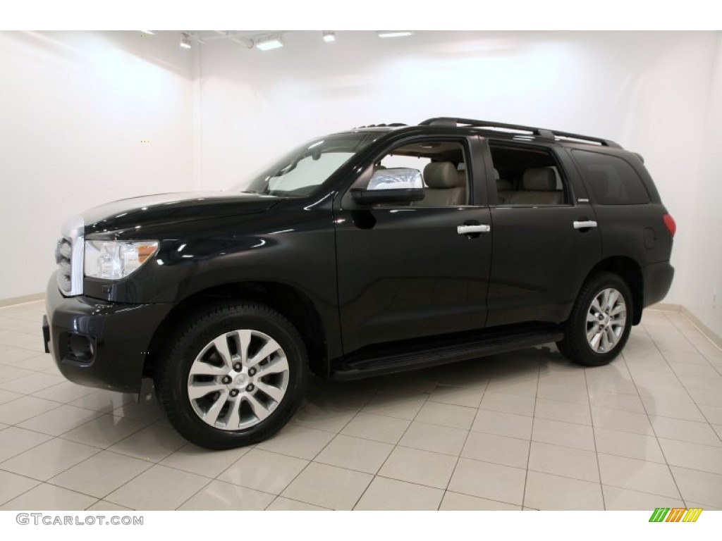 black 2012 toyota sequoia limited 4wd exterior photo. Black Bedroom Furniture Sets. Home Design Ideas