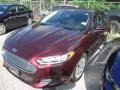 2013 Bordeaux Reserve Red Metallic Ford Fusion S  photo #4