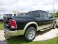2015 Black Forest Green Pearl Ram 1500 Laramie Long Horn Crew Cab 4x4  photo #6