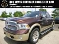 2015 Western Brown Ram 1500 Laramie Long Horn Crew Cab 4x4  photo #1