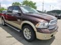 2015 Western Brown Ram 1500 Laramie Long Horn Crew Cab 4x4  photo #10