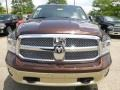 2015 Western Brown Ram 1500 Laramie Long Horn Crew Cab 4x4  photo #11