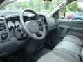 2006 Bright Silver Metallic Dodge Ram 1500 ST Quad Cab 4x4  photo #15
