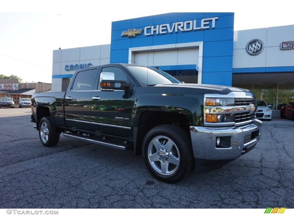 2015 rainforest green metallic chevrolet silverado 2500hd ltz crew cab 4x4 104798984 gtcarlot. Black Bedroom Furniture Sets. Home Design Ideas