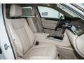 Silk Beige/Espresso Brown Front Seat Photo for 2016 Mercedes-Benz E #104844677