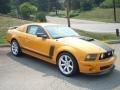 2007 Grabber Orange Ford Mustang Saleen Parnelli Jones Edition  photo #1