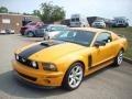 2007 Grabber Orange Ford Mustang Saleen Parnelli Jones Edition  photo #2