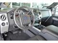 2016 Ford F250 Super Duty Black Interior Prime Interior Photo