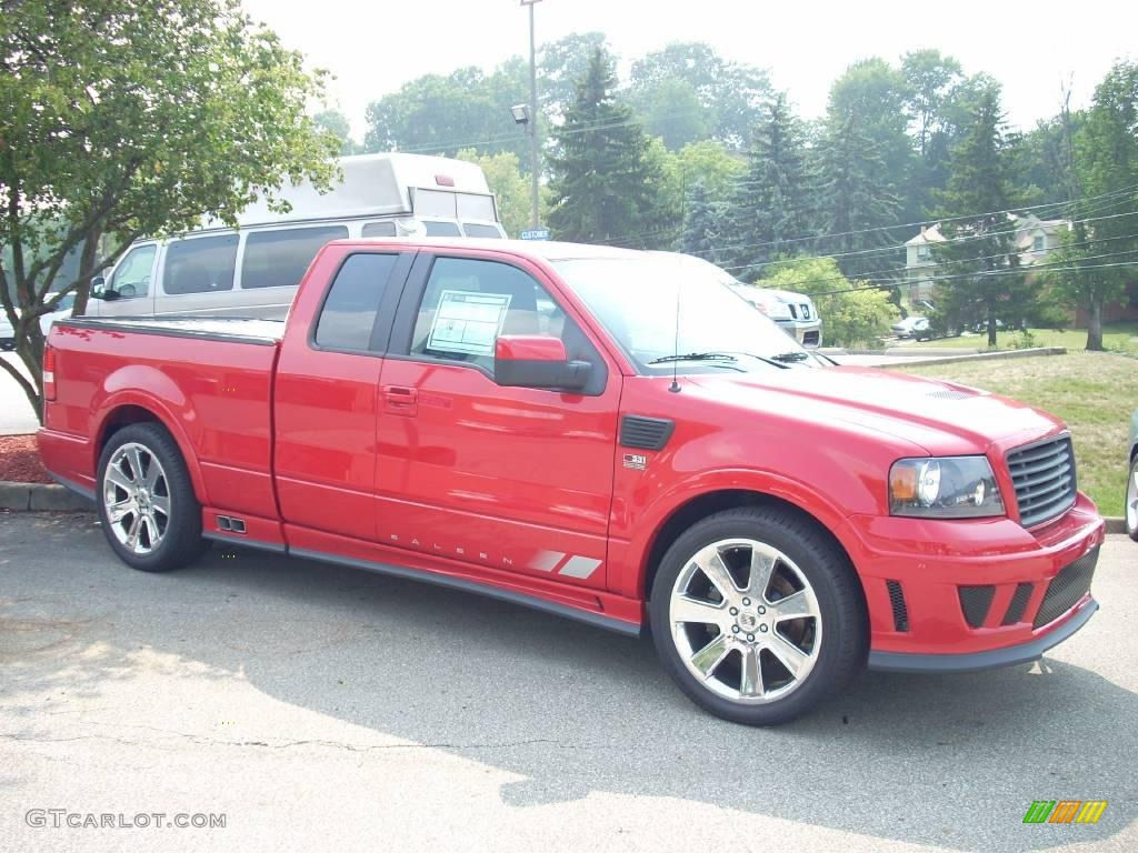 2007 bright red ford f150 saleen s331 supercharged supercab 10469041 car color. Black Bedroom Furniture Sets. Home Design Ideas