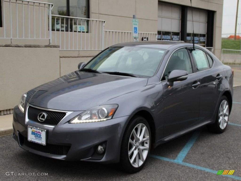 2012 nebula gray pearl lexus is 250 awd 104865487. Black Bedroom Furniture Sets. Home Design Ideas