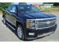 Black 2015 Chevrolet Silverado 1500 High Country Crew Cab 4x4
