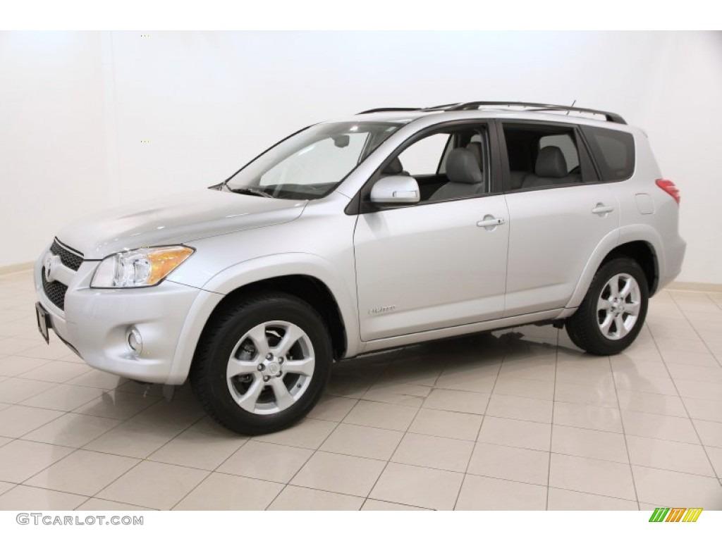 Classic Silver Metallic 2012 Toyota Rav4 Limited 4wd Exterior Photo 104886680