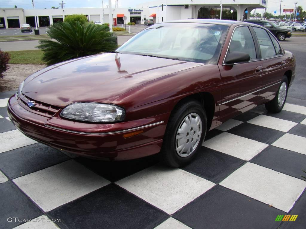 Dark carmine red metallic chevrolet lumina