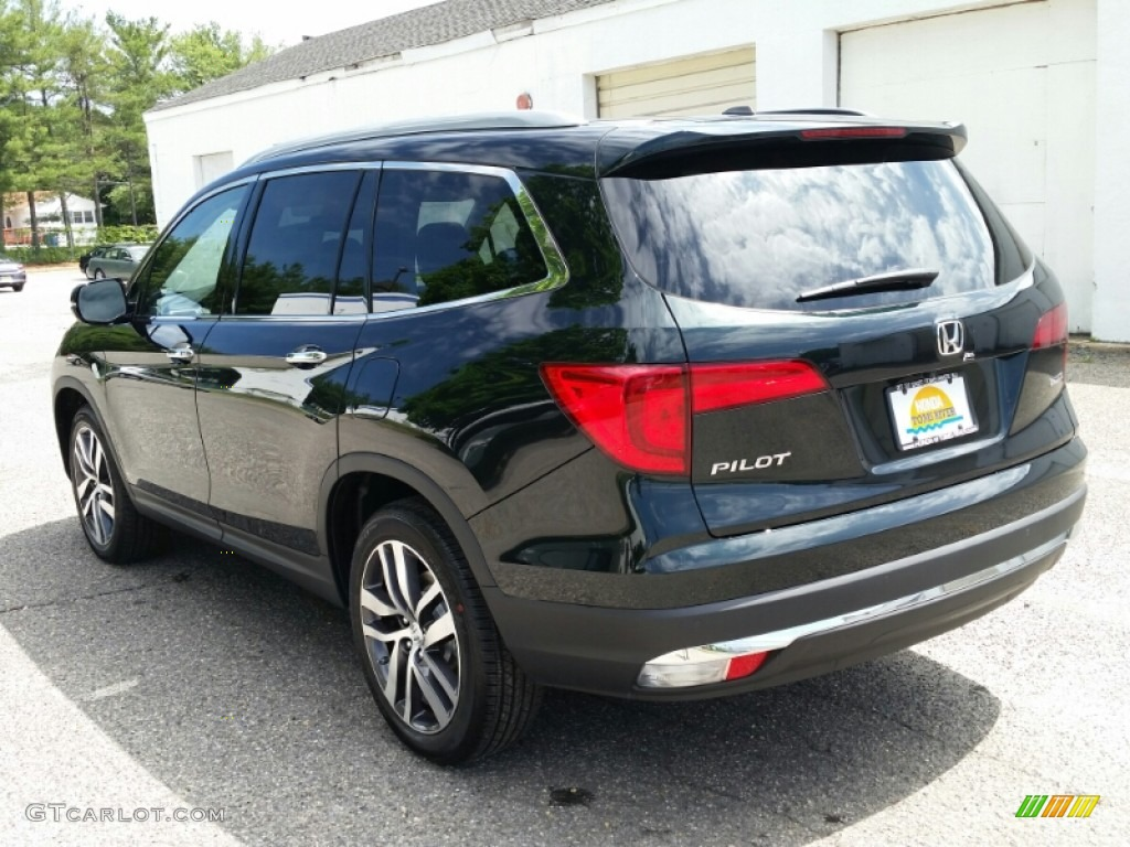 2016 Black Forest Pearl Honda Pilot Touring 104900999 Photo 2 Gtcarlot Com Car Color Galleries