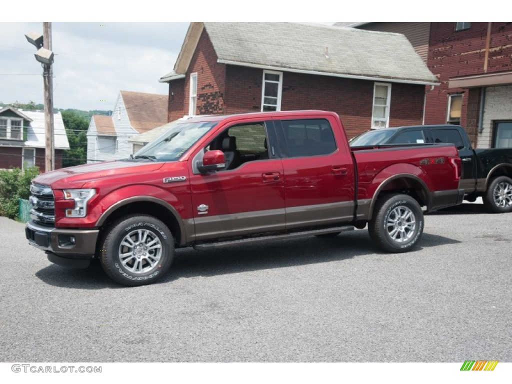 2015 Ruby Red Metallic Ford F150 King Ranch Supercrew 4x4 104900772