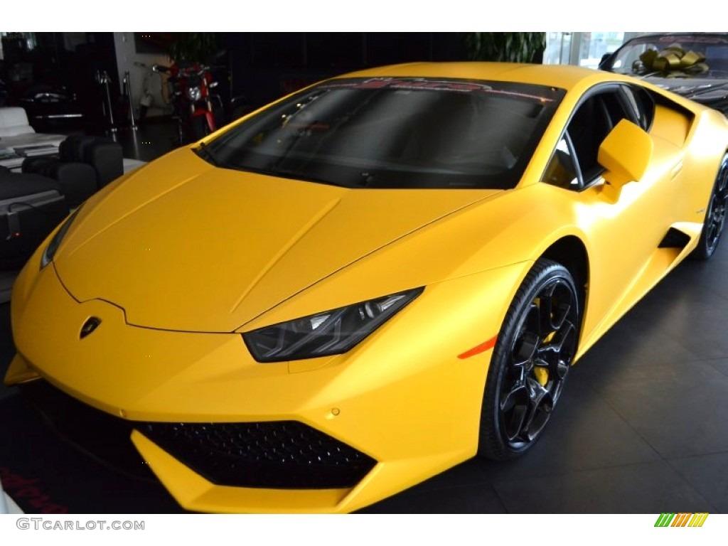2015 giallo horus matt lamborghini huracan lp 610 4 104900917 car color galleries. Black Bedroom Furniture Sets. Home Design Ideas
