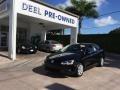 Black 2012 Volkswagen Jetta SE Sedan