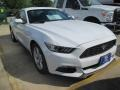 2015 Oxford White Ford Mustang EcoBoost Coupe  photo #1